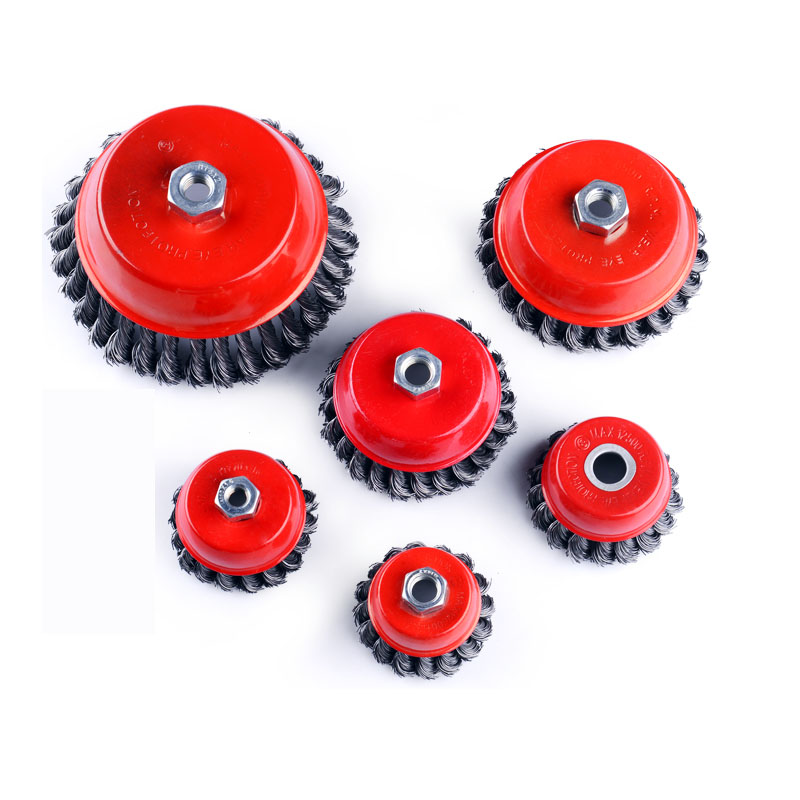 Wire wheel high quality wire twist cup brush