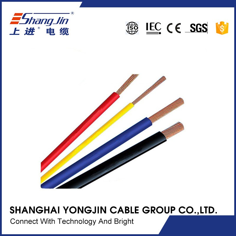 Customized wholesale lighting PVC isolated earthing cable