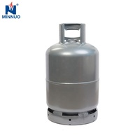 Yemen Nicaragua factories direct supply 12.5kg empty gas cylinder scale/26.5l refillable durable lpg bottle for cooking