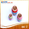 Wooden promotional spinning top toy;wood spinning top
