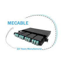 Mecable amp <span class=keywords><strong>112</strong></span> 16 10 port patch panel fiber
