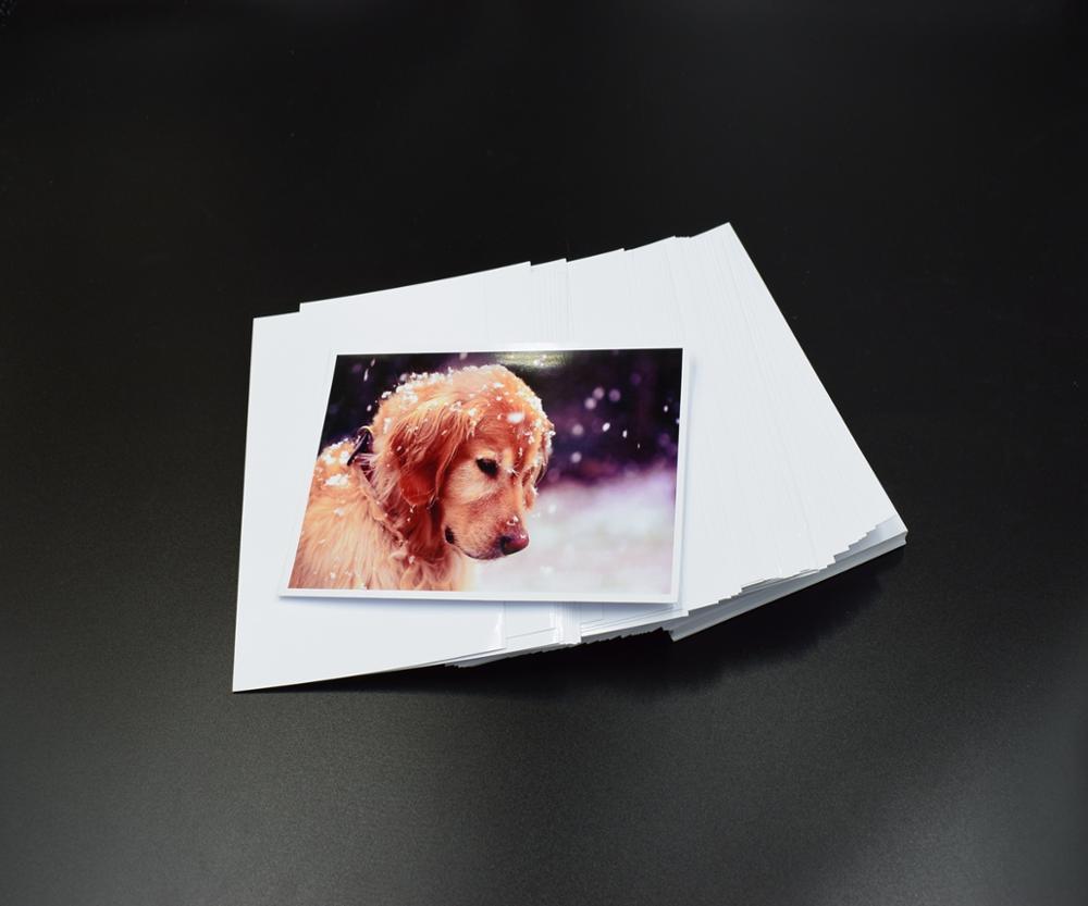 Картинка на глянцевой бумаге