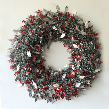 Wholesale Glitter Thick Hanging Christmas Colorful Tinsel For Xmas Festival Decoration Buy Cheap Christmas Tinsel Outdoor Christmas Tinsel Hanging