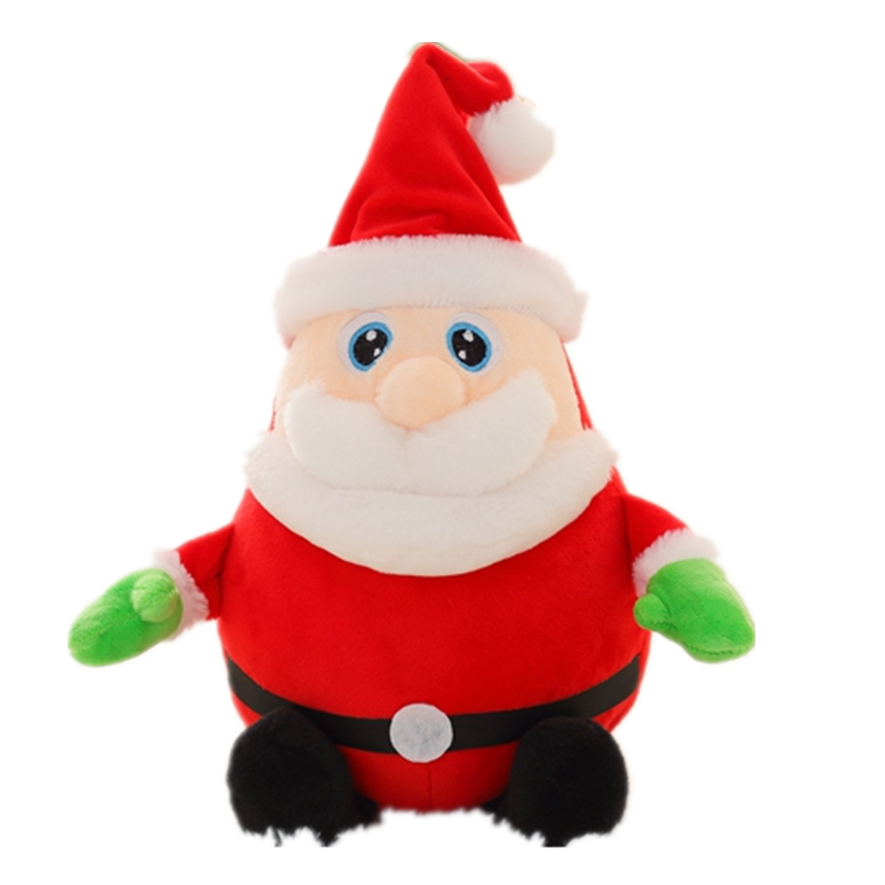 Christmas Santa Clause funny Plush Toy Soft Stuffed Animal