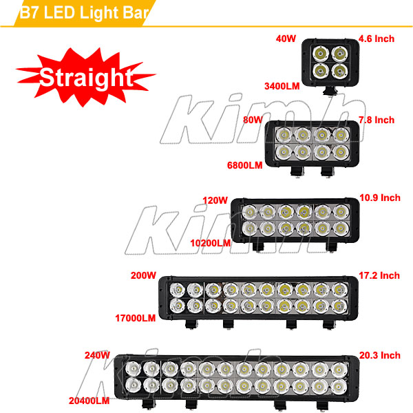 Automobile Led Bar Light Car Police