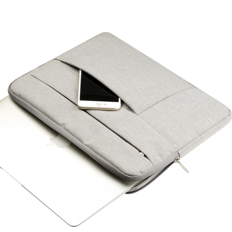 Custom 13 inch nylon tas voor macbook air 13 mouw laptop