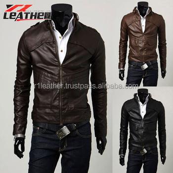 2014 De Moto Para Chaquetas Los Nuevas Hombres Cuero chaqueta wx6rwPET
