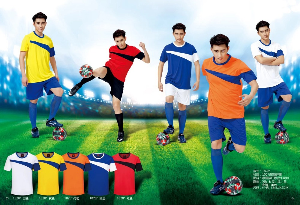 Cheap blank soccer jersey made in China
