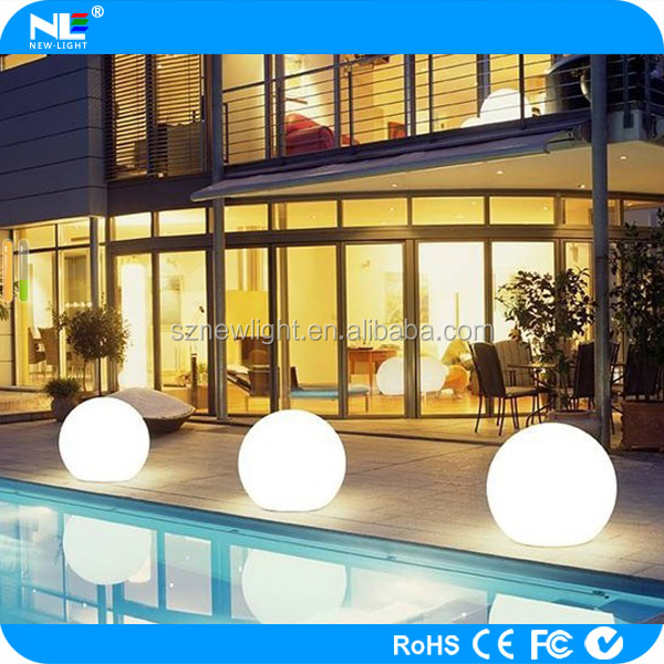 Waterproof outdoor high technology LED Full color moon light ball