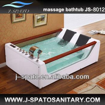 Hot Sale Discount Whirlpool Jet Surf Wooden Bathtub
