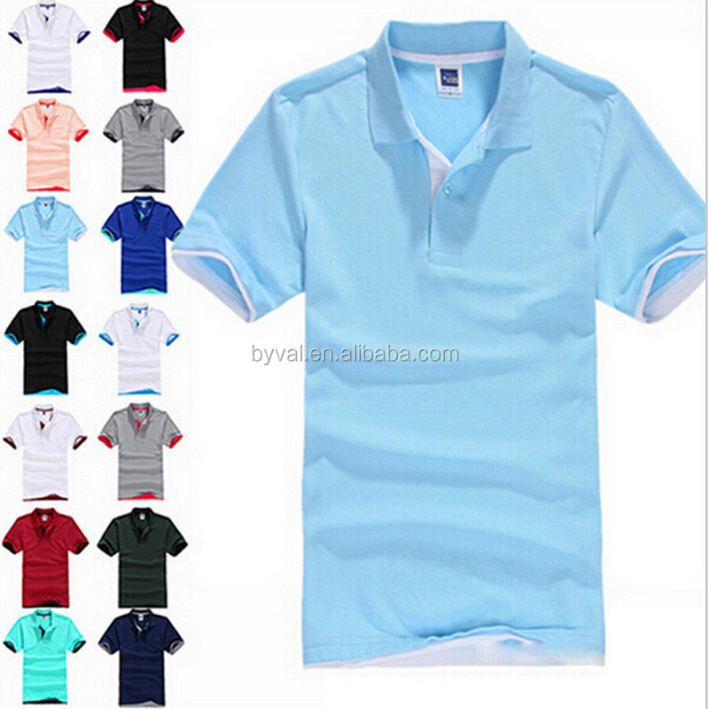 China Supplier Custom Made Classic Blank 200 Gsm PK Polo T-shirt
