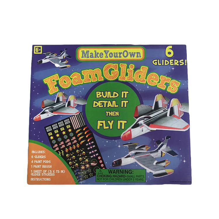 Handmade Toy Foam Glider Plane Glider Kit For Kids