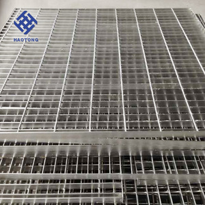 metal building materials hot dipped galvanized 6x1m 32 x 5mm steel grating factory price