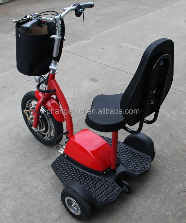 3 rad 350w elektrischer roller f r ltere personen buy. Black Bedroom Furniture Sets. Home Design Ideas