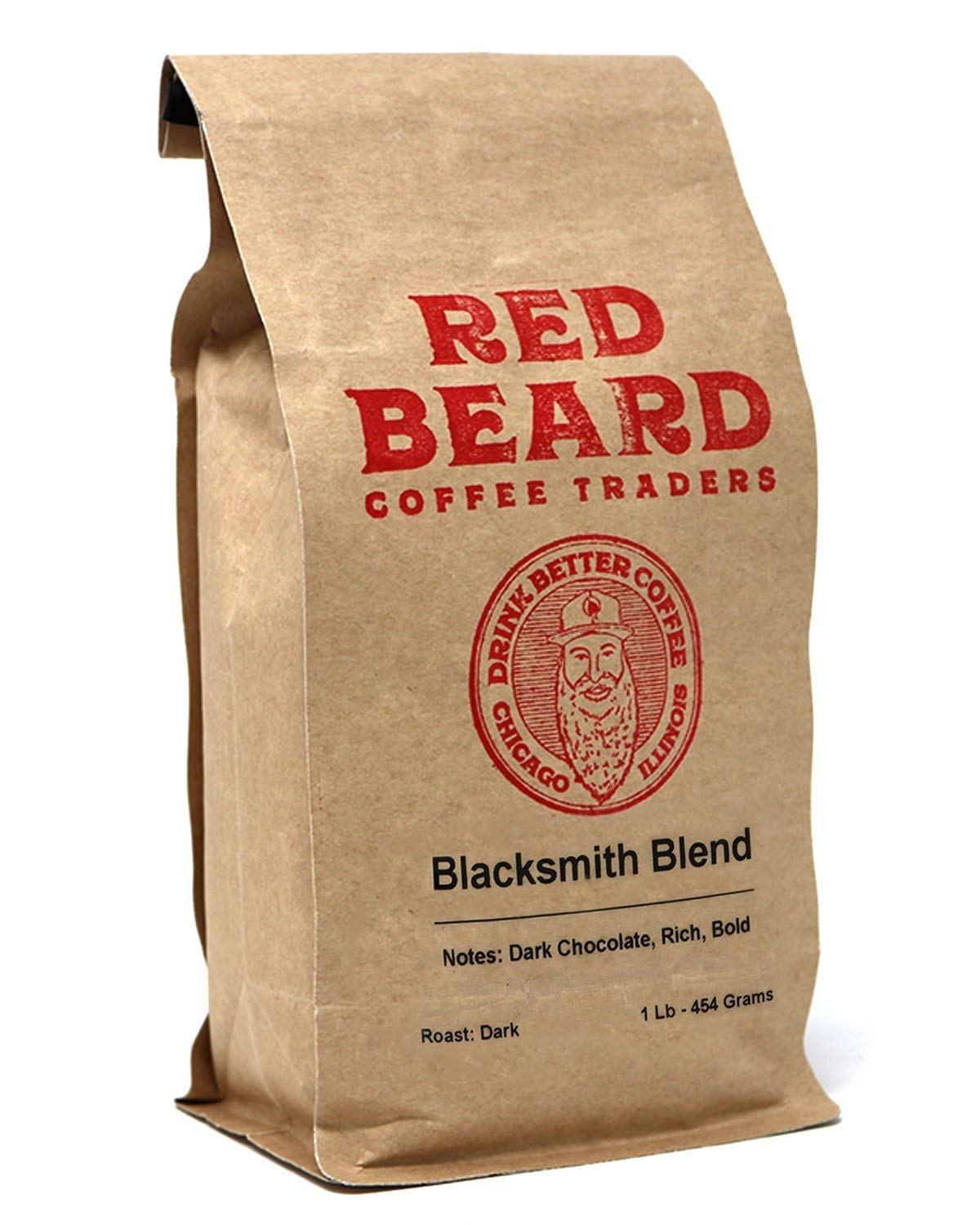 Red Beard Coffee Blacksmith Blend Dark Roast 1lb Specialty Coffees From Around the World Blended to Bring you a Bold Classic Taste