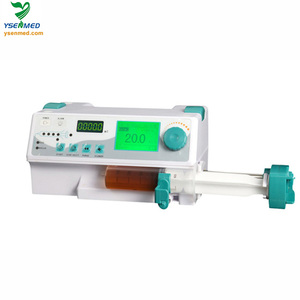 YSZS-810 hot sale medical CE certificate portable lowest price of syringe pump manufacturer