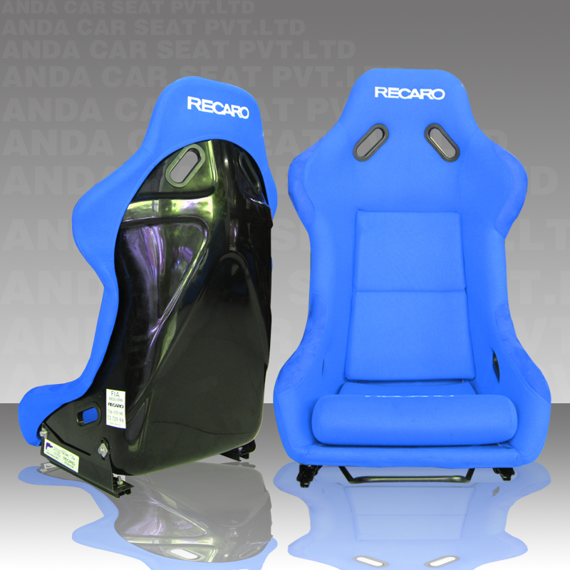 Blue Cloth Fiberglass Racing Chairs/Car Racing Seat/RECARO Race Seat MJ XL Size