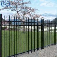 High Quality competitive Ornamental Galvanized Steel/Metal/Aluminium Fencing/Pickets