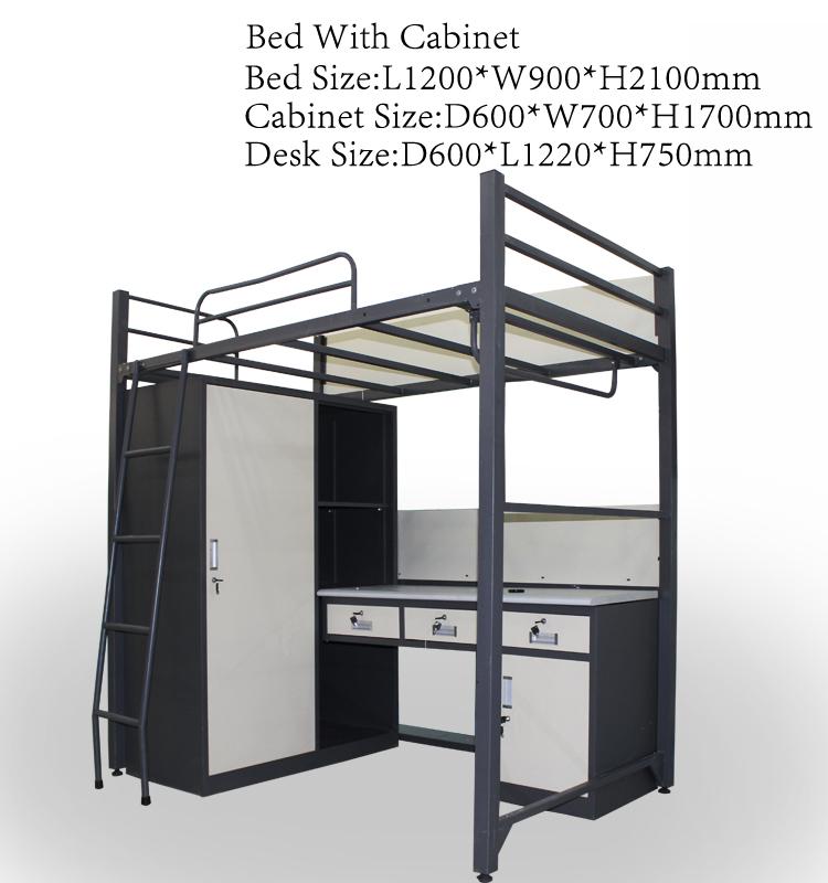 Strong School Dorm Metal Bunk Bed Dubai Furniture