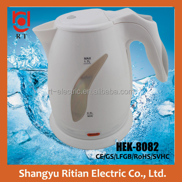 electric household <strong>appliance</strong> wholesale 1.7L electric cordless water kettle