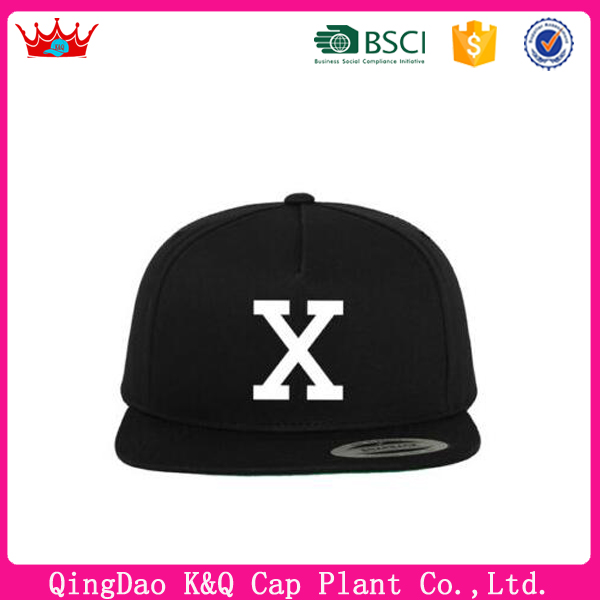 Custom Simple X Snapback Cap With High Quality