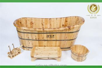 Chinese Manufacturer Wooden Customized Bathtub Sizes,Portable ...