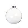 wholesale 8cm Clear glass hollow christmas ball ornaments bulk
