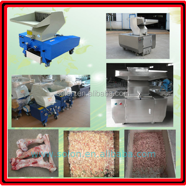 Stainless steel good quality big bone crushing machine rabbit bone grinding mill
