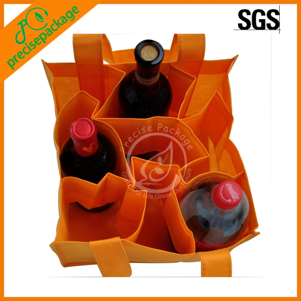 China nonwoven cheap wine bottle holder bag