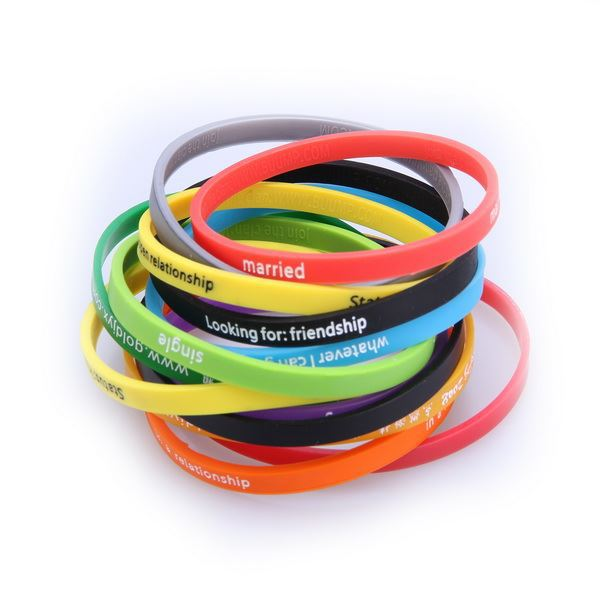 Make Your Own Rubber Bracelet Custom Slap Maker Product On