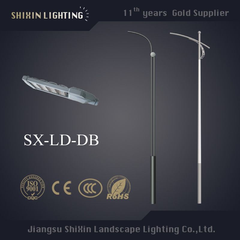 fiberglass street lighting pole power saving