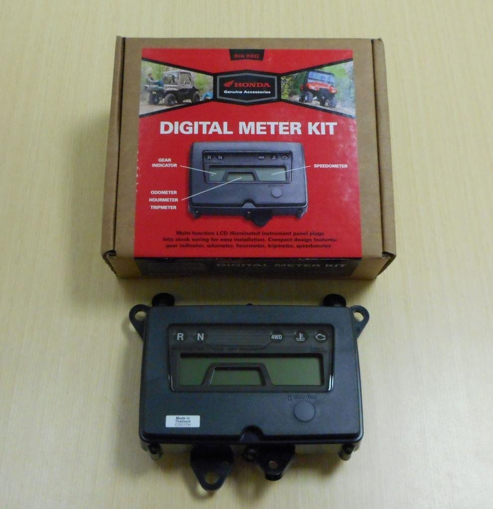 Cheap Speedometer Meter Find Deals On Line At Electric Hall Effect Get Quotations New 2009 2013 Honda Big Red Muv 700 Utv Oe Digital Kit