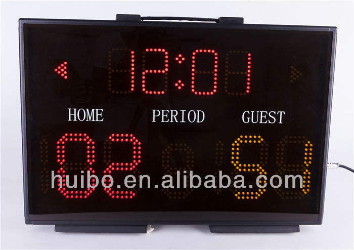 portable basketball score board led display