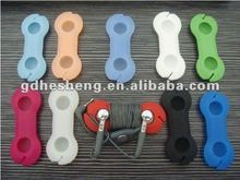 Earphone silicone cable winder