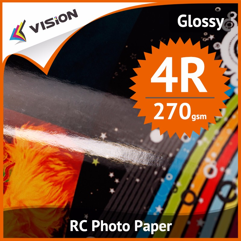 190/240/260/270 rc photo paper and glossy/satin/rough/woven photographic paper