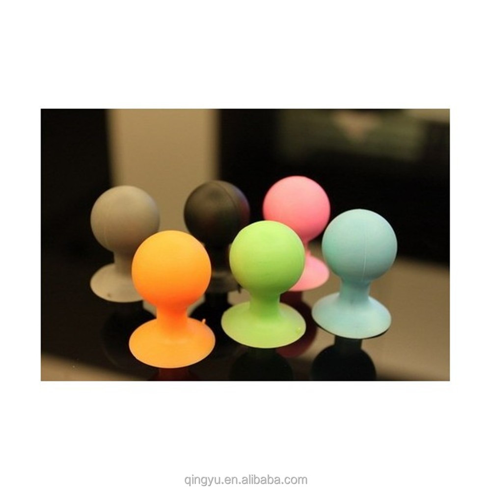 Suction Silicone Rubber Sucker Spherical Ball Stand Mount Hold