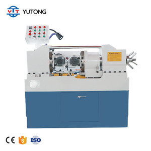 Thread rolling machine for nails nut bolt making machine