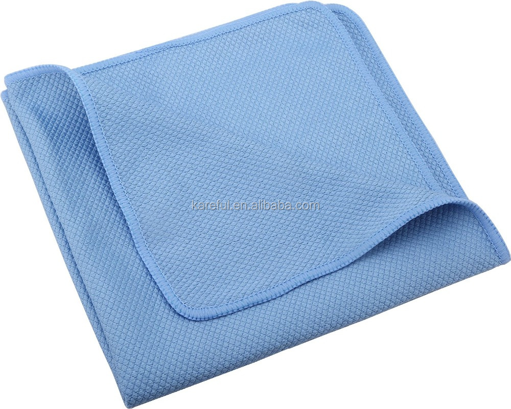 Microfiber Cleaning Cloths for Polishing Stainless Steel Kitchen Appliances & Streak Free Glass