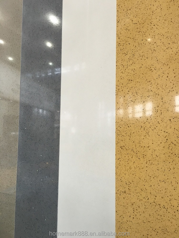 Building Material Big Size Artificial Crystal Quartzstone for Worktop