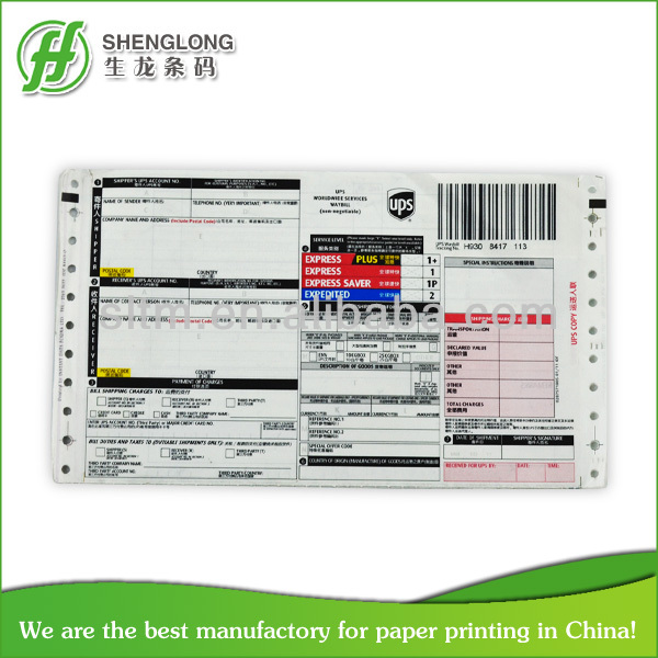 airway bill CHINA wholesale express bills courier bill