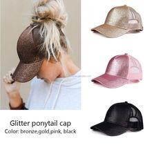 Glitter Ponytail Hat d2d53a63afc