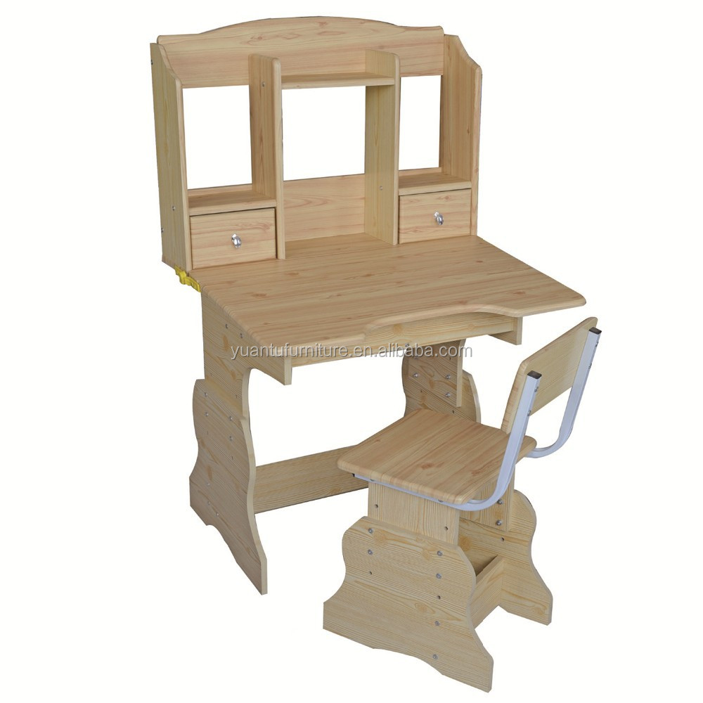 Wooden Children Drawing Table And Chair Wooden Children Drawing