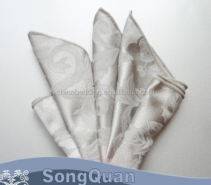 Embroidered china wholesale popular factory price cheap terry cloth napkins and recycled cloth napkins