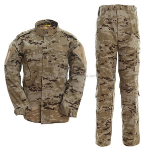 ACU Spanish desert camouflage new army uniform pattern military uniform