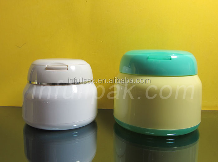 250g/250ml Plastic jar with Flip top lid