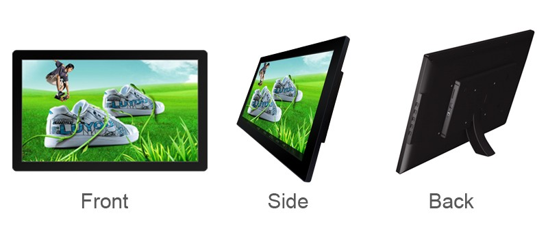 18.5 21.5 Inci Indoor Digital Signage Display Android Monitor LCD Layar Tablet