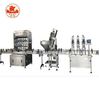 Viscosity and granule chili sauce beef paste bean paste liquid filling machine production line
