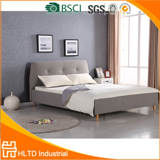 cheap for discount c444f e6e50 Modern Unique Double Size Bed With Big Cushion Headboard - Buy Big  Headboard Beds,Cushion Headboard Bed,Unique Double Size Beds Product on  Alibaba.com