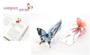3d Flying Butterfly Paper Clip Bookmark HOT Gift Page Holder