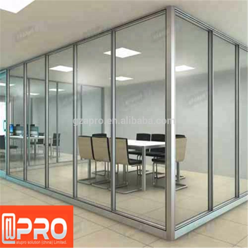 Guangzhou office cubicles glass flexible partition wall new products